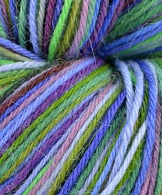 Misti Alpaca Hand Painted Sock Yarn - #42 Monte Carlo - #winyarnalpacadirect @Alpaca Direct
