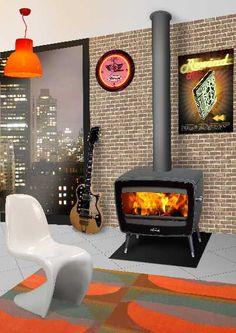 do stropu Foyers, Piece A Vivre, Stove, Home Appliances, Vintage, Images, Home Decor, Modern, Woodwind Instrument