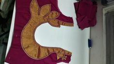 Saree Blouse Neck Designs, Simple Blouse Designs, Stylish Blouse Design, Churidhar Neck Designs, Sleeve Designs, Ritika Singh, Salwar Designs, Designer Blouse Patterns, Blouse Models