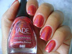 Lily's Nail: Vermelho Surreal - Jade
