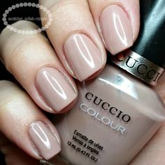 swatcher, polish-ranger | Cuccio Colour Nude-a-Tude swatch