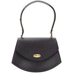 16285cadea Vintage Louis Vuitton Tilsitt Black Epi Leather Shoulder Pochette Bag 1  Vintage Louis Vuitton, Vintage. 1stdibs.com