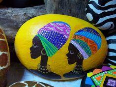Healthy breakfast ideas for kids images clip art designs for women Pebble Painting, Dot Painting, Pebble Art, Stone Painting, Stone Crafts, Rock Crafts, African Art Paintings, Arte Tribal, Painted Rocks Kids