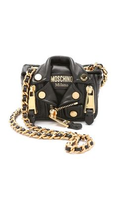 Moschino Mini Motorcycle Cross Body Bag
