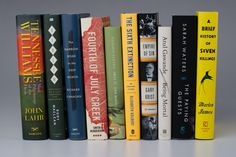 A great year in fiction and nonfiction.