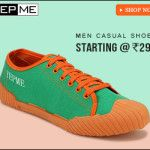 Flat 40% off on Men's Shoes