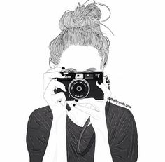 black and white, girl, outlines, pretty Tumblr Girl Drawing, Tumblr Sketches, Tumblr Drawings, Tumblr Art, Girl Drawings, Cute Drawings Of Girls, Sketches Of Girls, Tumblr Hipster, Tumblr Outline