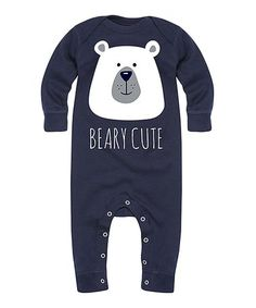 47e87f2879f0 Love this Navy  Beary Cute  Playsuit - Infant on