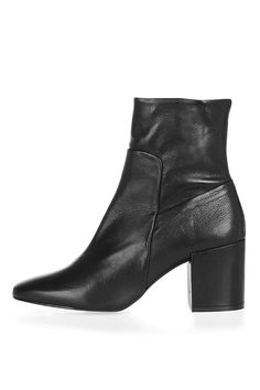 8f987b8b37 MINT Pointed Ankle Boots Soft Leather