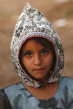 Shaharah Girl, Yemen