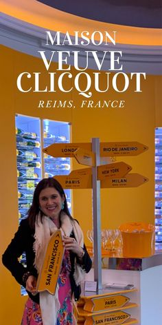 One of the world's most well known Champagne brands has an absolutely beautiful Maison in Reims, France. Follow along on my blog to see The Veuve Clicquot Maison and Spectacular Crayere Tours. West Coast Cities, Champagne Brands, Famous Wines, New West, Veuve Clicquot, Nyc Fashion, Eurotrip, Day Trip, Luxury Travel