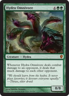 Hydra-Omnivore-x4-Magic-the-Gathering-4x-Conspiracy-mtg-card-rare-green