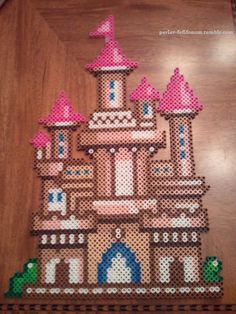 Castle! (I'm going to eventually put my dragons around it, haha.)