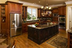 don gardner Solstice springs picture | Love this kitchen with Solstice Springs House Plan