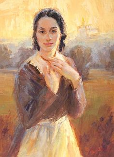 Emma - Julie Rogers. I'm so thrilled to find this artist! Beautiful Mormon…