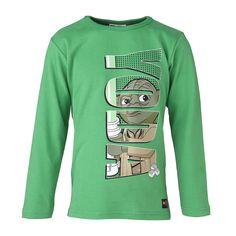 """STAR WARS(TM) Langarm-T-Shirt Tristan """"Yoda"""" Shirt    Wenn Kinder die Geschichten der Star Wars(TM) Saga mit ihren LEGO-Steinen nachspielen, kann es nichts besseres geben. Und wenn Sie Ihrem Sohn dieses Shirt überziehen, werden die Augen heller als ein Lichtschwert strahlen.    LEGO® Wear STAR WARS(TM) Kinder Langarm-T-Shirt mit folgenden Besonderheiten:    - Thema: LEGO® STAR WARS(TM)  - schön..."""