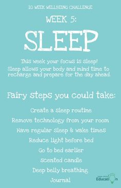 The sleep you get matters. Make it a focus this week! Challenge Week, Improve Yourself, Challenges, Mindfulness, Sleep, Good Things, Education, Onderwijs, Learning