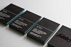 Papel con bordes coloreados (tarjetas de visita) | Producción Impresa | Domestika