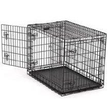 "Ultima Pro Fold & Carry Triple-Door Dog Crate Size: X-Large (48"" L x 30"" W x x35"" H)"