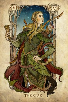 Lord of the Rings Tarot - The Star