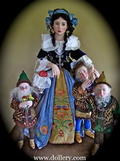 Jamie Williamson One of a Kind Doll Artist (Snow White)