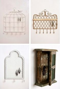 Fun jewelry storage