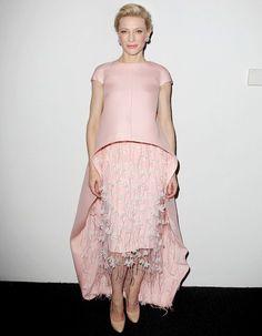 Cate Blanchett audacieuse en robe Balenciaga