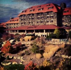 The Omni Grove Park Inn in Asheville, NC: Host of the Annual National Gingerbread House Competition.  A must see for the holidays!