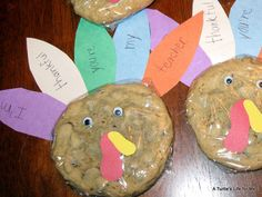 Thankful Cookies! - A Turtle's Life for Me