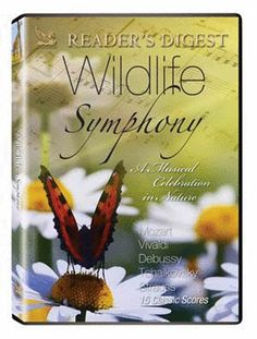 """WILDLIFE SYMPHONY DVD - 15 classical selections """"choreographed"""" by the animal kingdom! Swim with the dolphins and whales as they swirl to Debussy's Reflections on the Water. Antarctic penguins playfully romp to Bizet's Children's Games, and more. A favorite since its introduction. 48 min. DVD"""