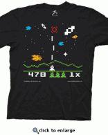 T-shirt jeu vidéo Astromash porté par Sheldon Cooper dans The Big Bang Theory #TBBT