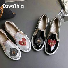 PU patent leather glitter bling casual women shoes 1e248c7273dc