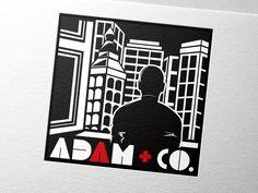 Adam + Co.  |  Logo Design