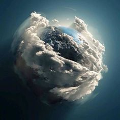 "dom-4life: "" Earth as seen by the Hubble telescope! """