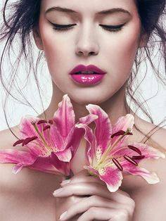 Flowers Beauty by Cyril Lagel, via Behance