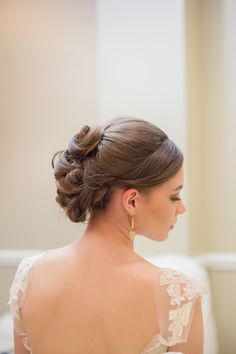 #hairstyles  Photography: Gemini Photography Ontario - geminiphotographyontario.com  Read More: http://www.stylemepretty.com/canada-weddings/2014/05/15/gold-apricot-inspiration-shoot/