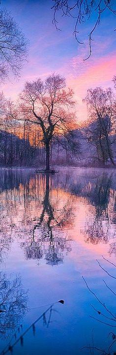 WINTER SUNRISE #quelle: www. ArchitectureArtDesigns .com -- arnie2105