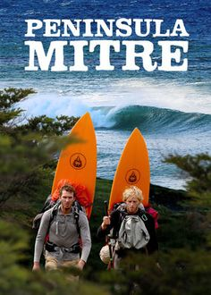 Peninsula Mitre - This film documents the Azulay brothers' grueling hike to Argentina's Cape San Diego, where they hope to surf untried, world-class waves. In And Out Movie, Adventure Film, The Brethren, Day Hike, One Life, Cool Things To Buy, Stuff To Buy, Surfboard, Lighthouse