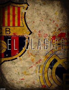 El Clasico - Real Madrid vs Barcelona - laliga