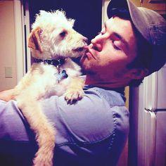 Ian Harding + dogs