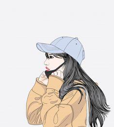 การ์ตูนผู้หญิง Akira, Alone Art, Portrait Cartoon, Cute Cartoon Girl, Cartoon Art Styles, Cute Cartoon Wallpapers, Anime Art Girl, Hinata, Digital Art Girl