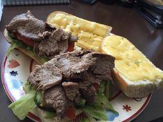 Steak Sandwich courtesy of the 'reduced' aisle [2048 x 1536] [OC]