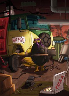 Donatello - TMNT - soyhector.deviantart.com