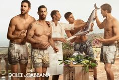 More Photos from Dolce & Gabbana Mens Spring/Summer 2014 Ad Campaign image dolce gabbana spring summer 2014 ad campaign 0004 800x536