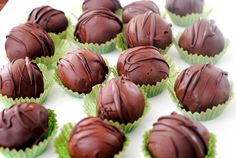 BAILEY'S CARAMEL IRISH CREAM TRUFFLES