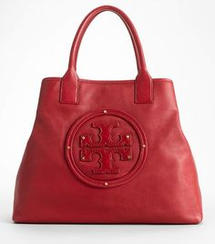 Stacked Logo Summer Tote - Tory Burch