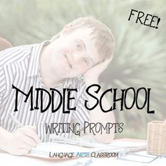 Use these as bell ringers, for inclusion in journals, or as a way to end class. This product contains 20 writing prompts. Middle School Writing Prompts, Kindergarten Writing Prompts, Writing Lesson Plans, High School Writing, Writing Prompts For Writers, Picture Writing Prompts, Essay Prompts, Writing Lessons, Teaching Writing