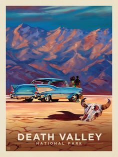 Anderson Design Group – The Kai Carpenter Collection – Death Valley National Park: Living it Up