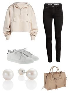 """""""Untitled #1"""" by mandisamandee-mm ❤ liked on Polyvore featuring Ivy Park, Yves Saint Laurent and Balenciaga"""