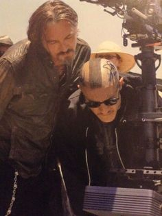 Tommy and Theo behind the scenes of SOA